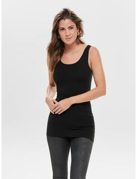 Basic Mouwloze Top by Only