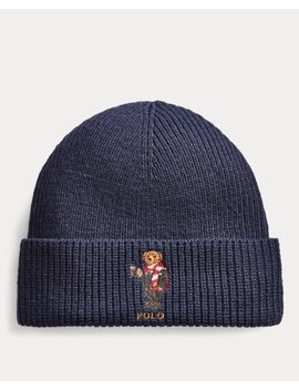 Holiday Bear Hat by Ralph Lauren