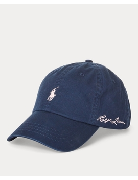 Pink Pony Baseball Cap by Ralph Lauren