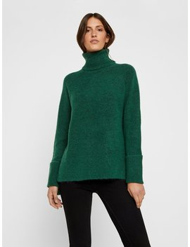 Wool Blend Knitted Pullover by Vero Moda