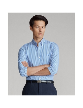 Slim Fit Striped Poplin Shirt by Ralph Lauren