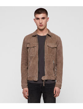 Garter Suede Jacket by Allsaints