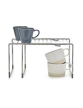 Lakeland Adapt A Shelf Extendable Storage Shelf Compact by Lakeland