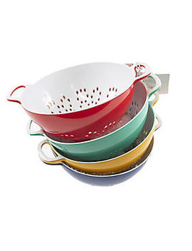 Colourworks Small Colander 15cm – Colours Vary by Lakeland