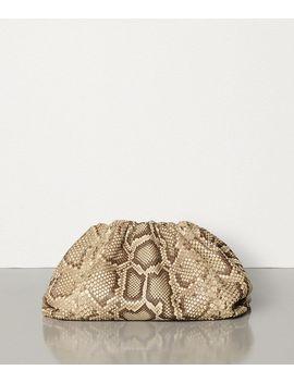 The Pouch In Python by Bottega Veneta