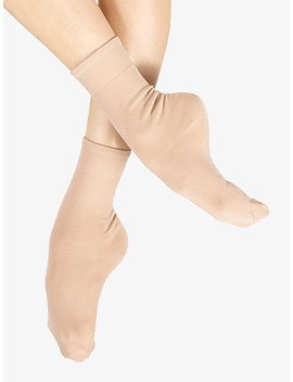 Womens Ankle Dance Socks A Little Slippery Slippery Sock So Slippery Amazing Socks Are They Slippery? by Discount Dance Supply