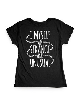 I Myself Am Strange And Unusual by Human