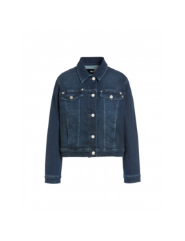 Stretch Denim Jacket by Moschino