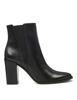 Watchme Block Heeled Booties by Nine West