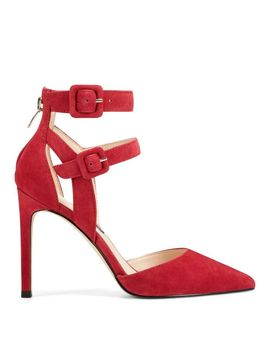 Tereza Dress Pumps   Red Suede by Nine West