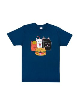 Mcnerm Tee (Harbor Blue) by Ripndip