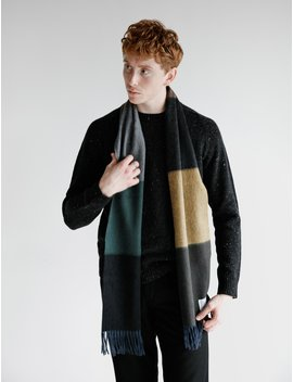 Norse X Begg Scarf Black Multi by Norse Projects