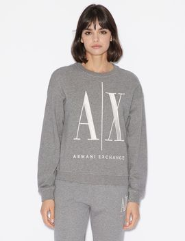 Crew Neck Sweatshirt by Armani Exchange