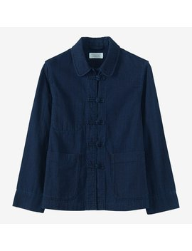 Indigo Workwear Jacket by Toast