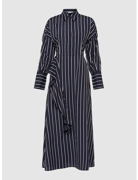 Ross Striped Dolman Sleeve Dress by Layeur