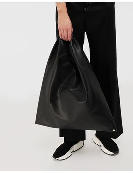 Japanese Faux Leather Medium Bag by Maison Margiela