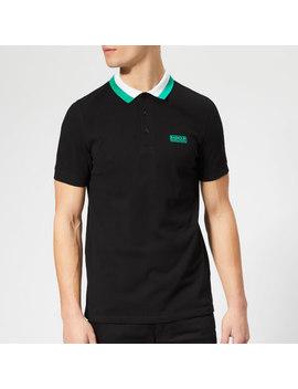 Barbour International Men's Ampere Polo Shirt   Black by Barbour International