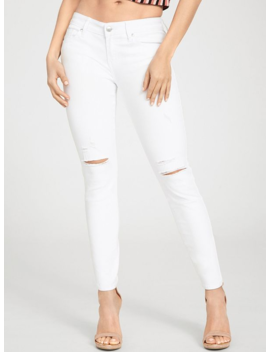 Polar Destroyed Skinny Jeans by G By Guess