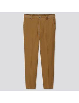 pantalon-ezy-coton-coupe-confort-7_8Ème-homme by uniqlo