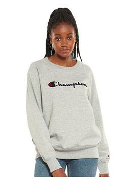 Champion Womens Crewneck Sweatshirt by Champion