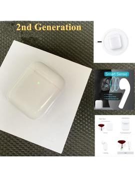 1 Pièces/Tws Air 2nd H1 Puce Bluetooth Sans Fil écouteur Sans Fil étui De Charge + Capteur Intelligent + Batterie Réelle + Pop Up écouteurs Pods by Ali Express.Com