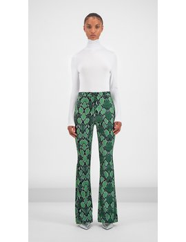 Green Snake Gady Pants by Daily Paper