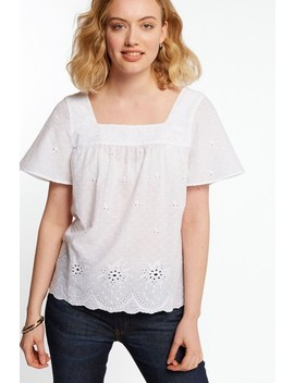 Fat Face   Lizzie   Witte Broderie Blouse by Next