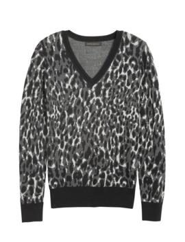 Leopard Sweater by Banana Republic