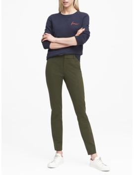 Sloan Skinny Fit Brushed Pant by Banana Republic