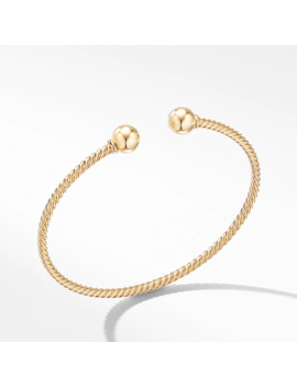 Solari Bracelet In 18 K Yellow Gold With Gold Domes by David Yurman