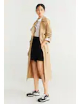 Limon   Trench by Mango