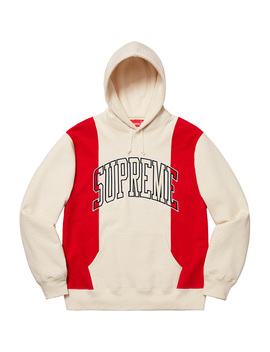 Paneled Arc Hooded Sweatshirt by Supreme