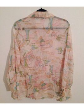 vintage-asian-print-blouse-size-small_medium by handmade
