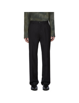 black-wool-chino-22-trousers by our-legacy