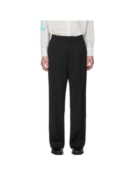 black-herringbone-borrowed-chino-trousers by our-legacy
