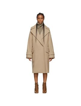 beige-dumbo-coat by sportmax
