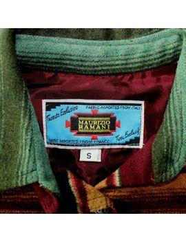 vintage-maurizo-ramani-womens-shirt-southwest-blanket-style-size-small by maurizo-ramani