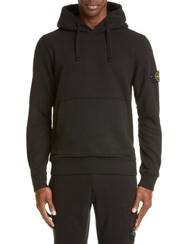 patch-hooded-sweatshirt by stone-island