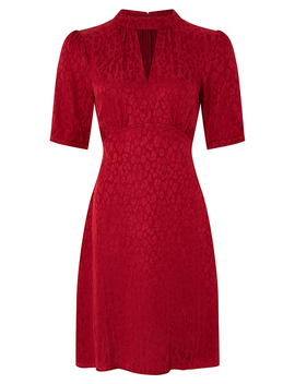 tia-jacquard-midi-dress by monsoon