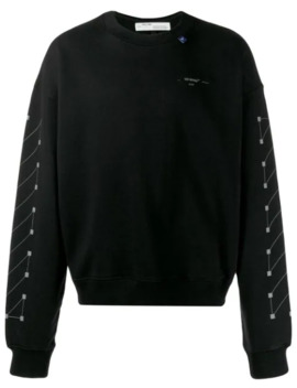 sweater-met-diagonale-print by off-white