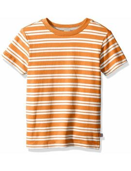 scout-+-ro-boys-short-sleeve-stripe-tee-shirt-russet-orange-size-14 by scout-+-ro