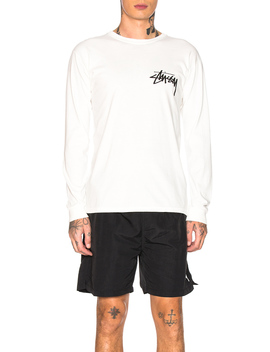 t-shirt-manches-longues by stussy