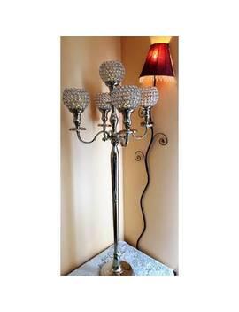 5-goblets-crystal-candelabra by garian