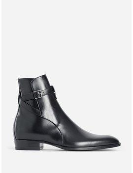 saint-laurent---boots---antoniolieu by saint-laurent