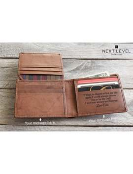 mens-rfid-blocking-wallet-premium-leather-bifold-wallet-custom-engraved-cowhide-personalized-wallets---christmas-gifts-for-men by etsy