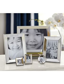 """beaded-silver-plated-picture-frame,-5-x-7"""" by pottery-barn"""