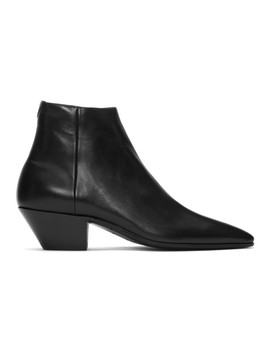 ブラック-jonas-ジッパー-ブーツ by saint-laurent