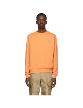 orange-basic-sweatshirt by affix