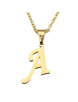 timeless-initial-necklace by bohomoon