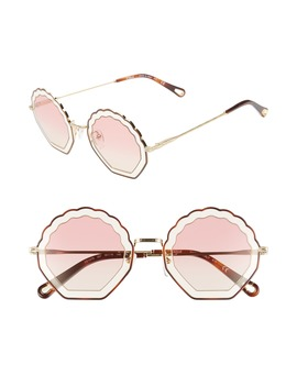 tally-56mm-scalloped-sunglasses by chloÉ